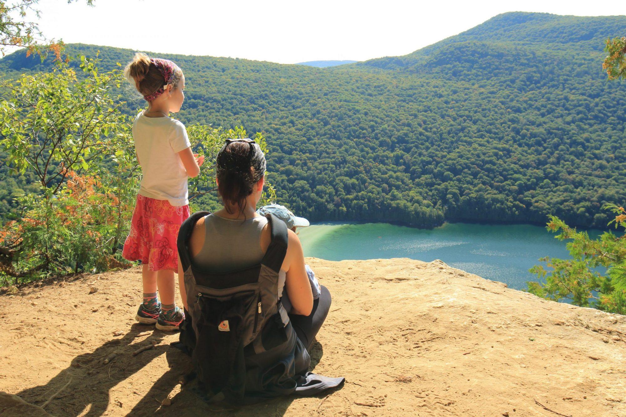Le mont Pisgah en famille | État du Vermont, États-Unis