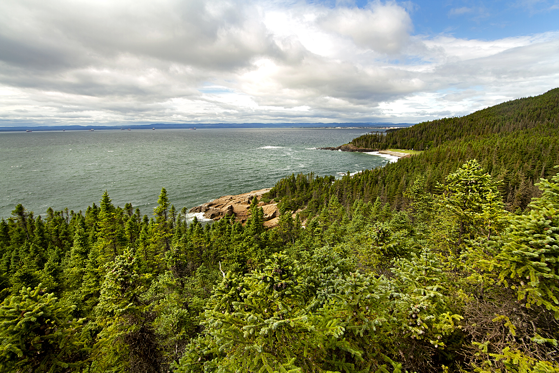 La Côte-Nord en deux îles
